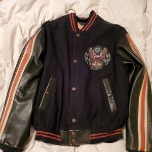 Vintage leather Harley Davidson jacket